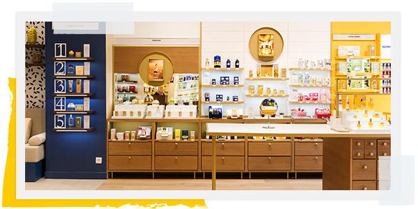 Boutique L'OCCITANE - artisanat
