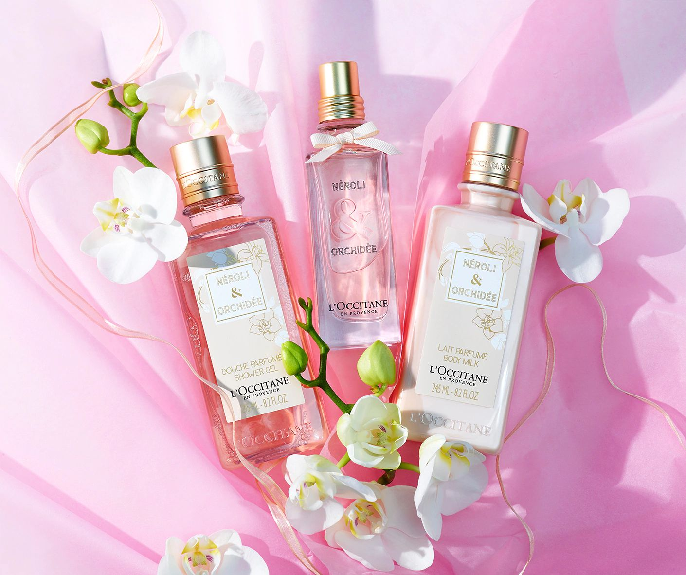 NEROLI & ORCHIDEE COLLECTION - Elegant & Voluptuous - l'Occitane