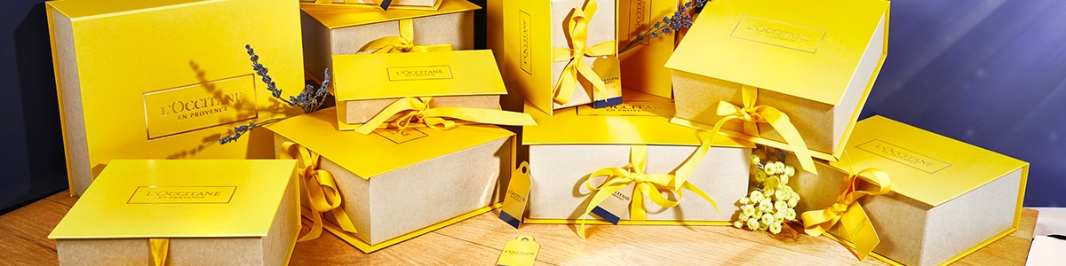 Personalize your gift - l'occitane