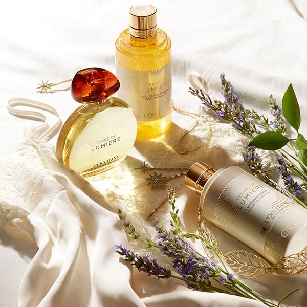 TERRE DE LUMIERE COLLECTION - The essence of the Golden Hour - l'Occitane