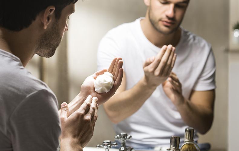 kurus skūšanās produktus izvēlēties