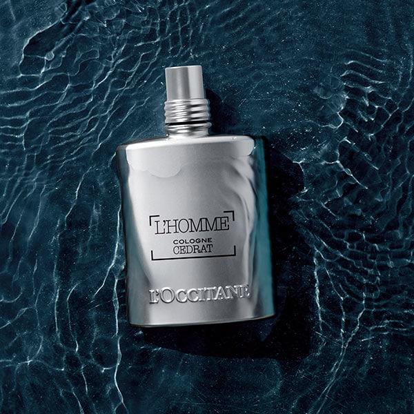 L'HOMME COLOGNE CEDRAT COLLECTION - Cédrat Men's grooming collection - l'Occitane
