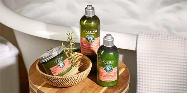Řada na suché a poškozené vlasy -  Opravte slabé a polámané vlasy - L'Occitane
