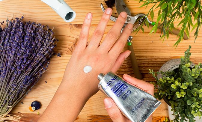 Verwendung des Lavendels in der Kosmetik