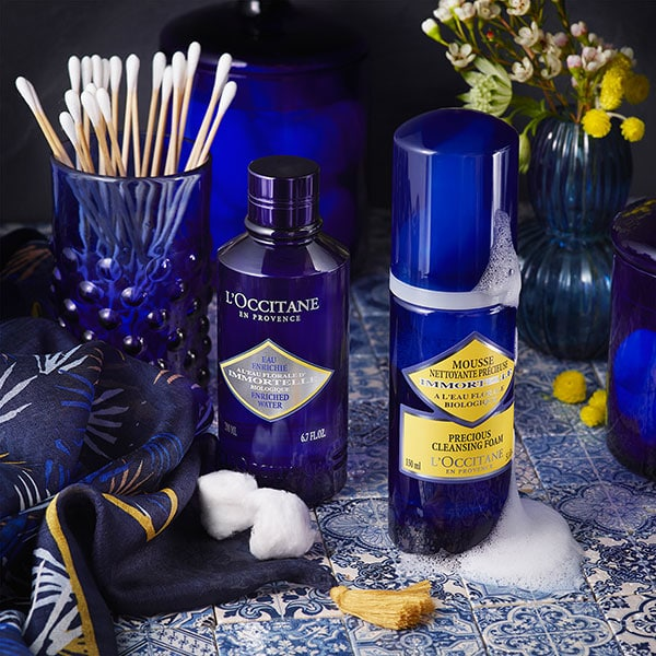 Immortelle precious - youth and beauty - l'Occitane