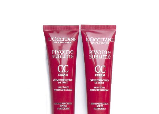 PIVOINE SUBLIME - EVEN & PROTECT - Pivoine Sublime CC Skin Tone Perfecting Cream SPF20 - l'Occitane