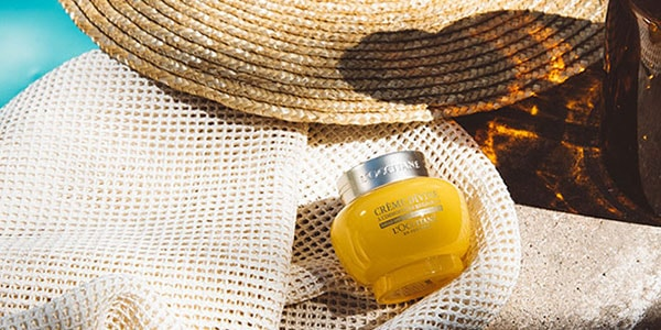 barrera natural - crema Divine - l'Occitane