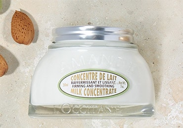 PROVENCE LOVES ALMOND - DELICIOUS ALMOND Adopt an indulgent body care - l'Occitane