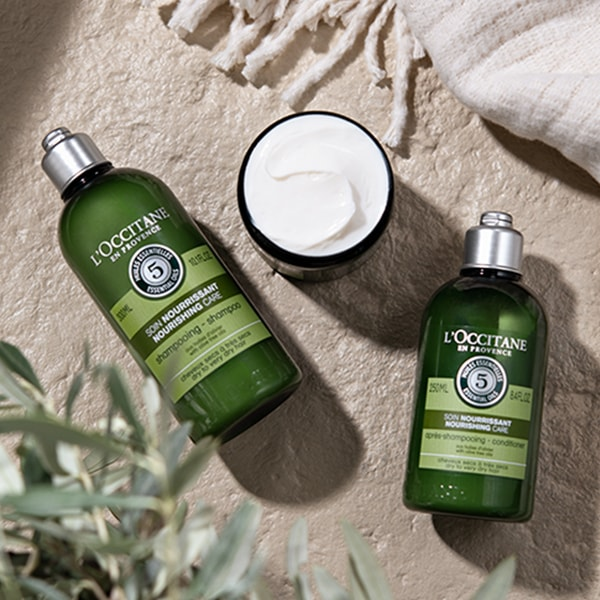 Hair Care - Say hello to shiny, thick hair - L'Occitane