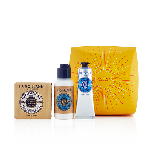 Moisturising Shea Butter Travel Set