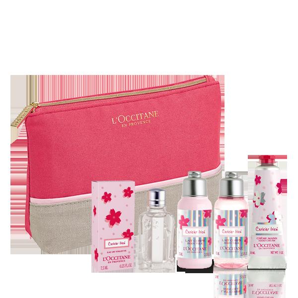 Cherry Blossom Cerisier Irisé Travel Collection