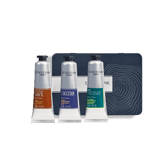 Men's set of TRIO AFTER SHAVE BALMS