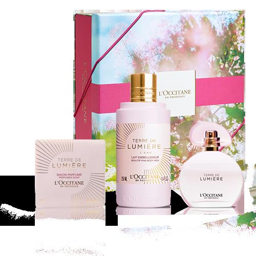 Tender & Floral Terre de Lumière L'Eau Fragrance Gift set