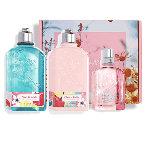 Perfumed set JUICY CHERRY (exclusively in the online store)