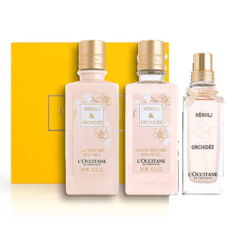 Perfumed  set NEROLI & ORCHID (exclusively in the online store)