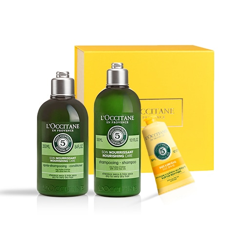 Nourishing trio for hair