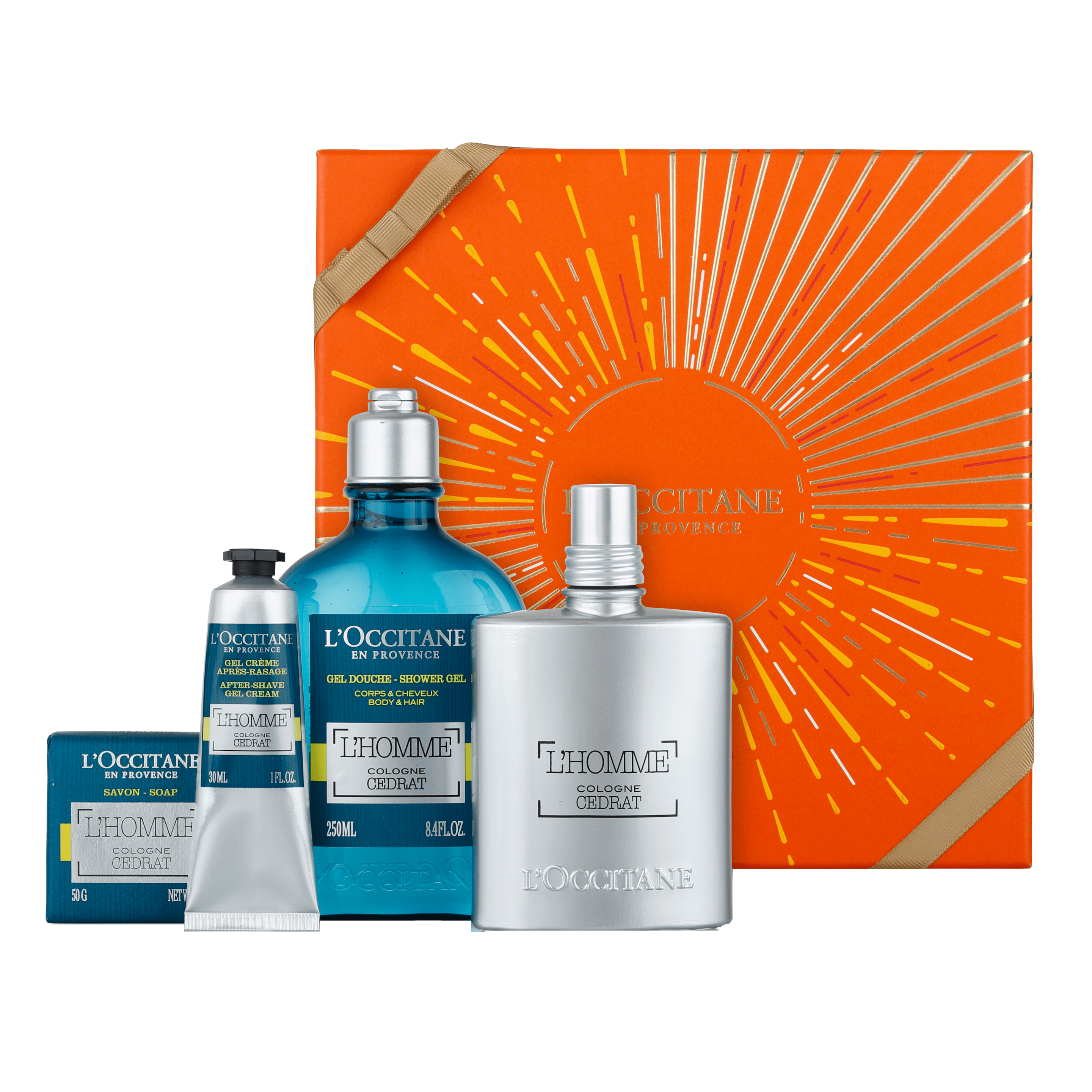 Energising L'Homme Cedrat Collection