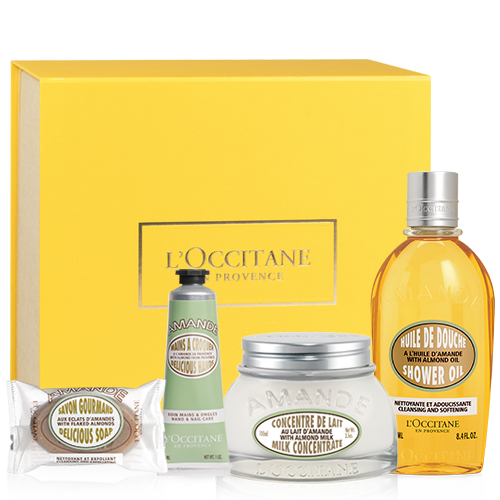 Holiday Almond Body Care Set