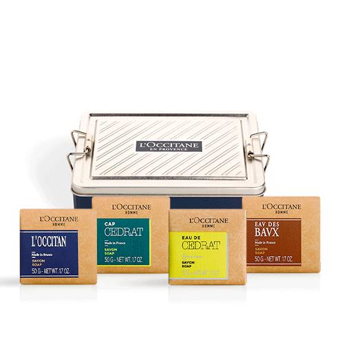 Мужской премиум-набор парфюмированного мыла (эксклюзивно только в интернет-магазине)