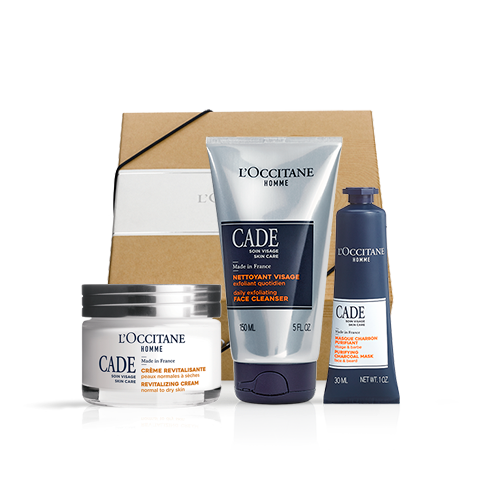 Men's face care set CADE (exclusively in the online store)