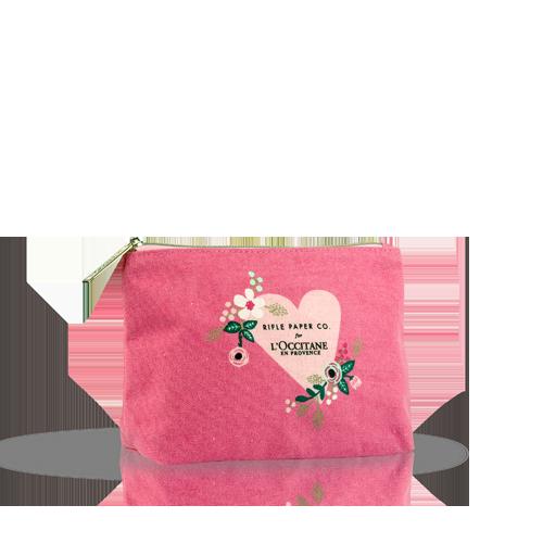 Kosmētikas somiņa no Mon Amour kolekcijas rozā