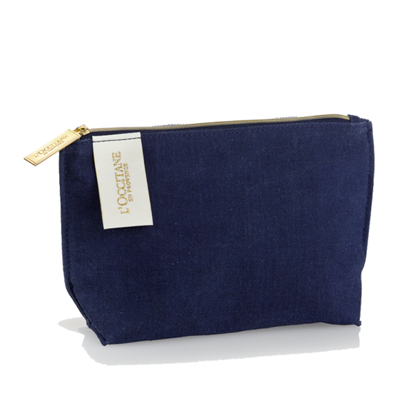 L'OCCITANE Iconic Navy Pouch