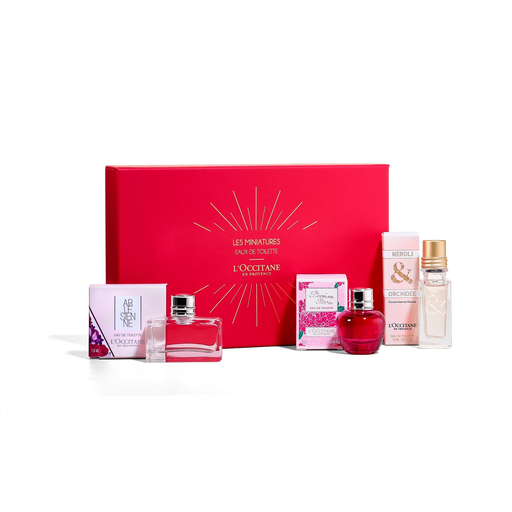 MINI TRIO EAU DE TOILETTE  Three flower scents