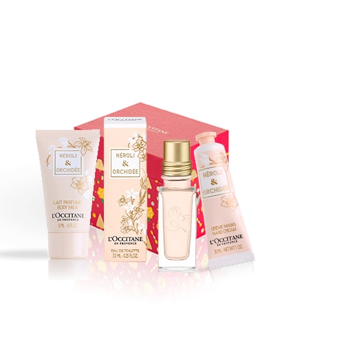 Neroli and Orchid perfumed body care set