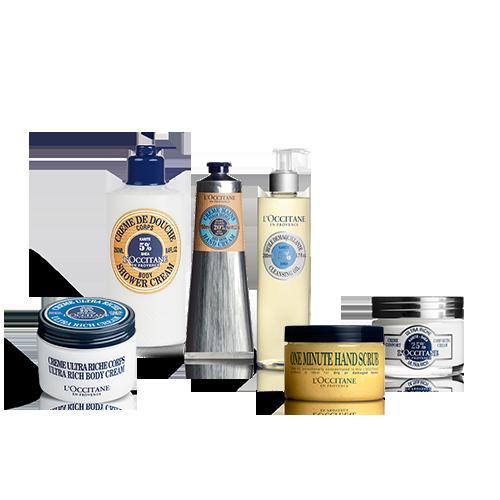 Zestaw Premium Odżywcze Masło Shea do pielęgnacji ciała i twarzy w specjalnej cenie