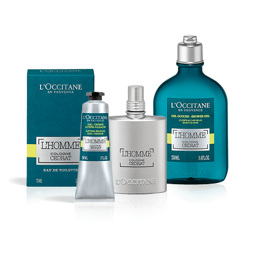 L'Homme Cologne Cedrat fresh set for men