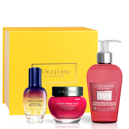 Pivoine Sublime face care ritual set