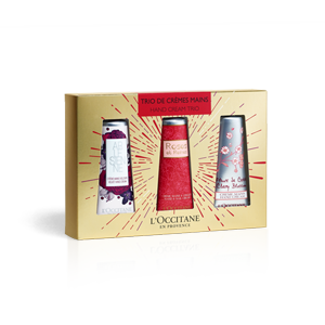 Floral Hand Cream Trio for PLN 96 only!