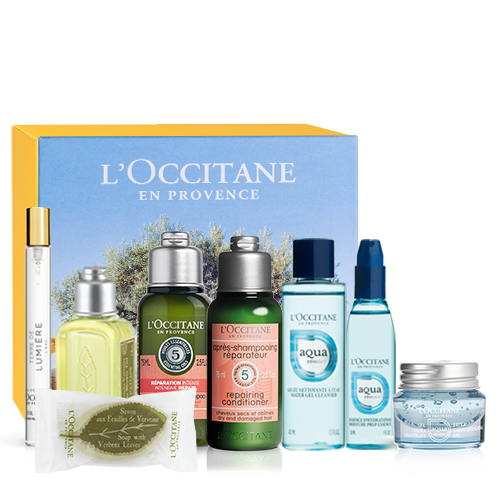 Invigorating travel set