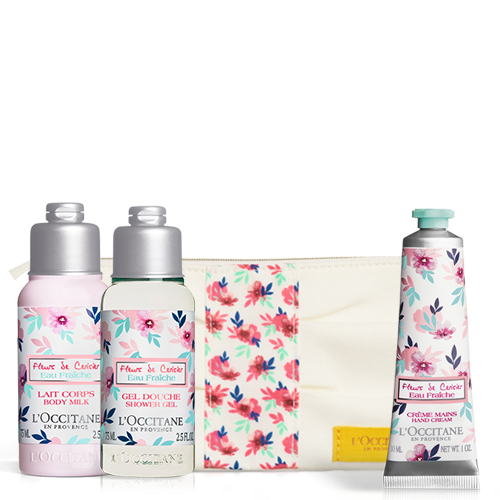 Cerisier eau Fresh Discovery Set