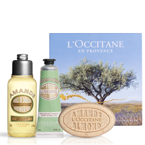 Sweet Almond Travel Set | L'OCCITANE