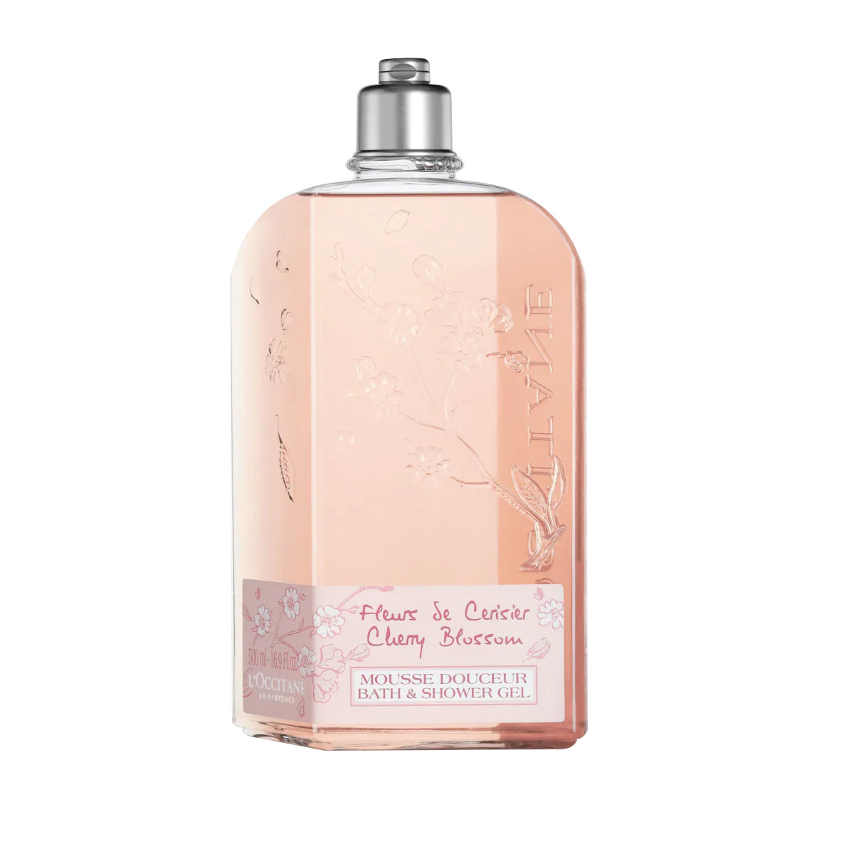 Cherry Blossom Bath Shower Gel Limited Edition Size