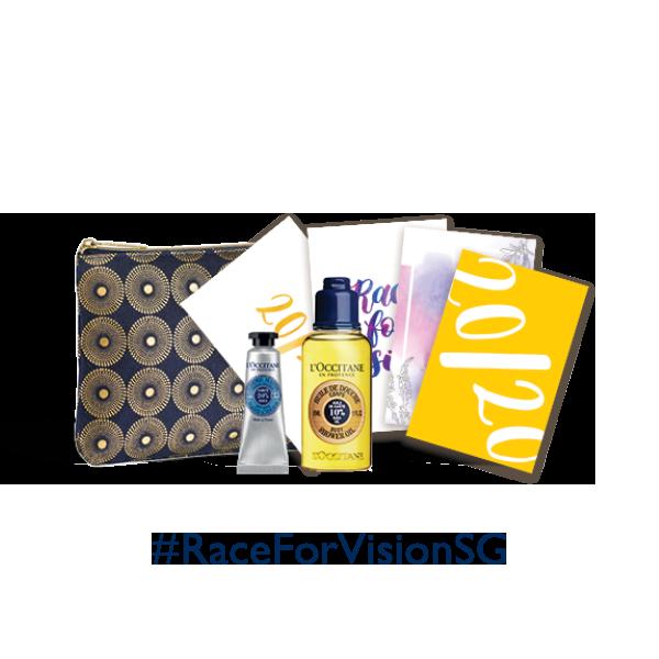 L'Occitane #RaceForVisionSG Charity Gift Set