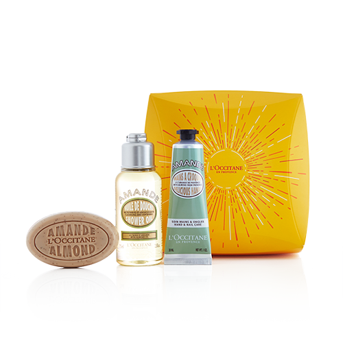 Delicious Almond Travel Set