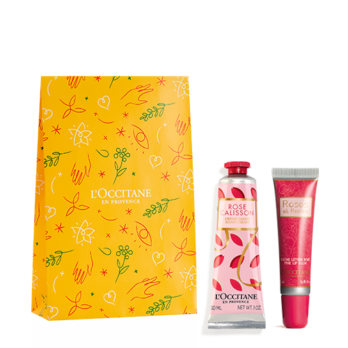 Rose Hands and Lips Gift Set