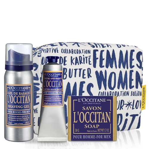Loccitan Travel Set