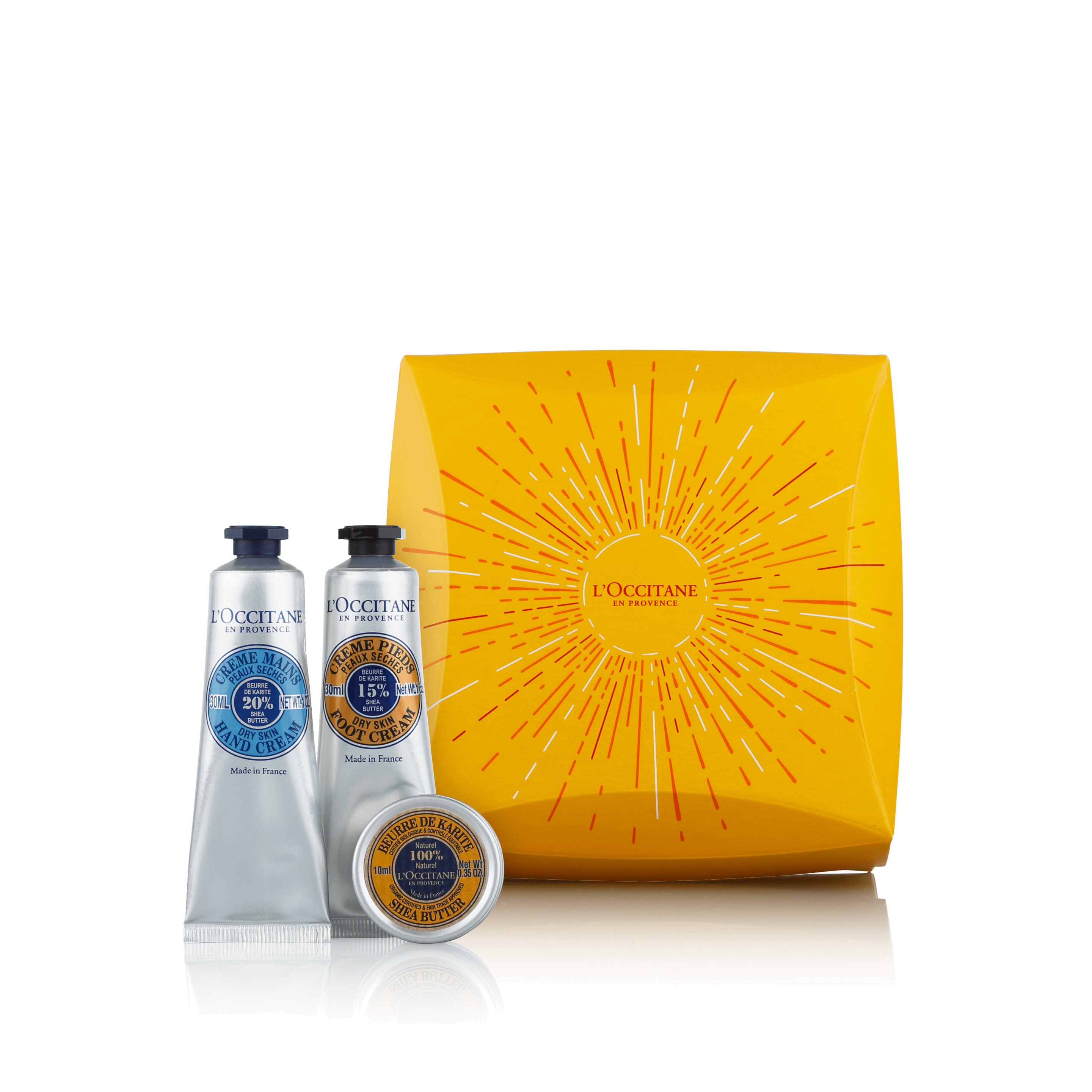 Shea Butter Travel Collection