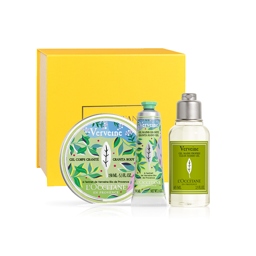 Body care set GRANITE-VERBINE LIMITED COLLECTION (exclusively in the online shop)