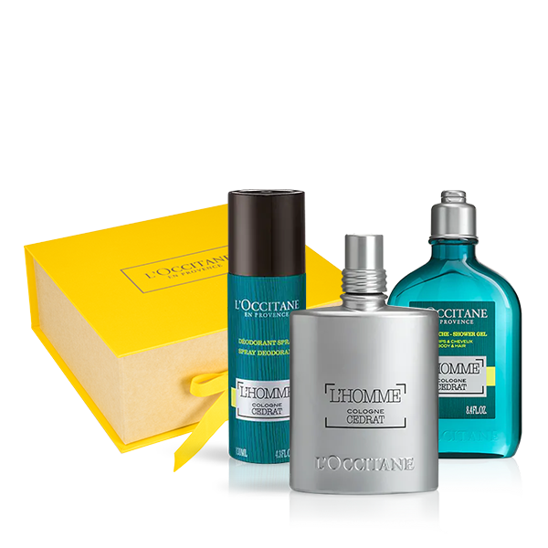 L'Homme Cedrat Fragrance & Body Care Collection