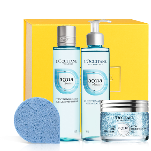Aqua Réotier Set With Moisture-prep Essence