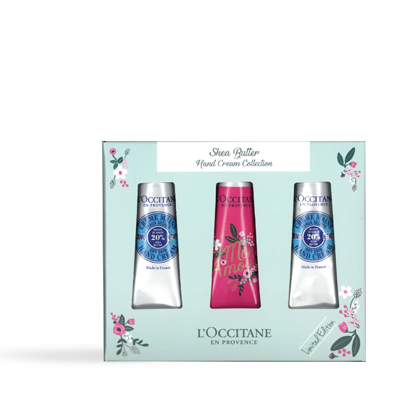 Rifle Paper Co. x L'OCCITANE Hand Cream Trio