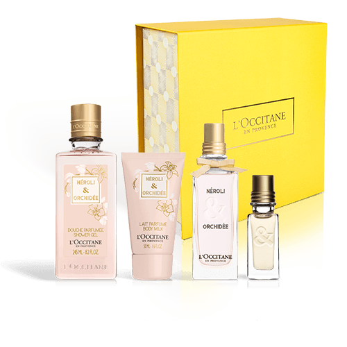 Elegant & Voluptuous Neroli & Orchidee Fragrance Set