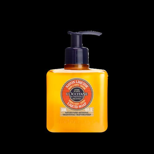 Citrus Shea Butter Liquid Soap Traditional Craftsmanship