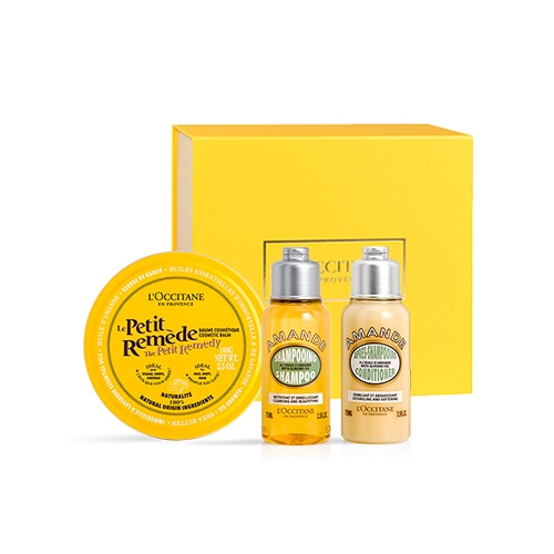 Trio for hair and body \