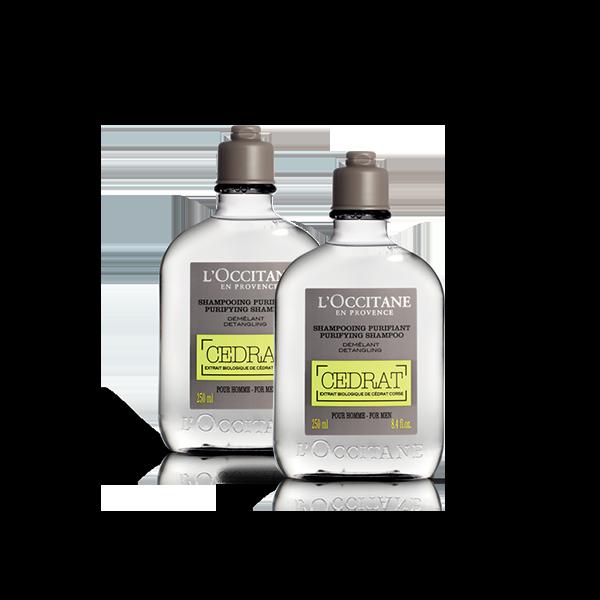 Cedrat Shampoo Duo
