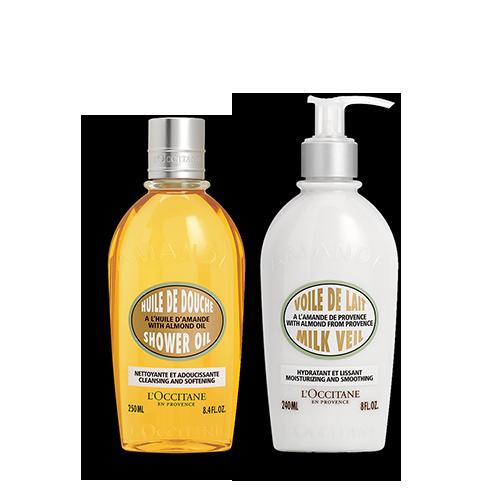Almond Shower & Milk Duo